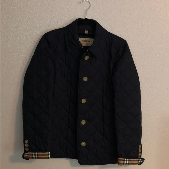 NWOT Quilted Burberry Jacket